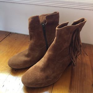 Steve Madden suede leather boots size 10